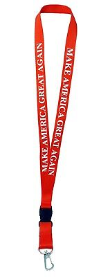 Make America Great Again Lanyard Key Chain Quick Release Keychain Trump patriot