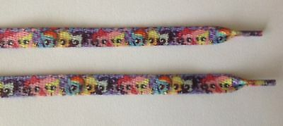 "My Little Pony inspired Shoe Laces - 43"" Long - One Pair"