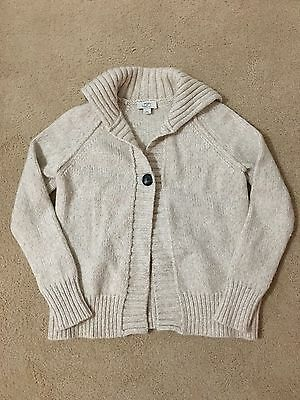 Ann Taylor Loft Maternity Cardigan (beige / size Sm) Excellent Condition Rare!