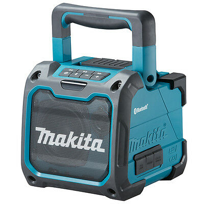 Makita DMR200 Cordless or Electric Jobsite Bluetooth Speaker