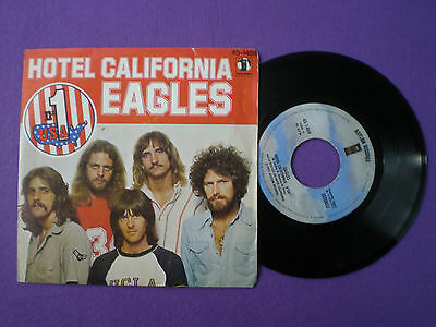 EAGLES Hotel California SPAIN 45 1977