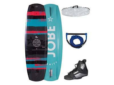 Jobe Vanity Wakeboard Package 136 141 Bindings Bag Rope Beginner Intermediate