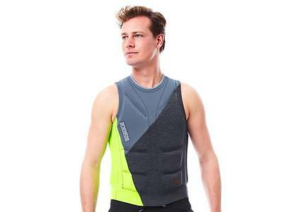 Jobe Comp Vest Lime Mens Buoyancy Aid Jetski Wakeboard Waterski Sup