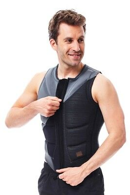 Jobe Comp Vest Zipper Mens Buoyancy Aid Jetski Wakeboard Waterski Sup