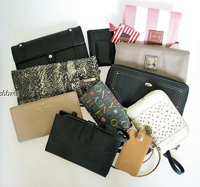 10pcWallet Lot Coach Kate Spade Fossil Cole Haan Banana Republic +
