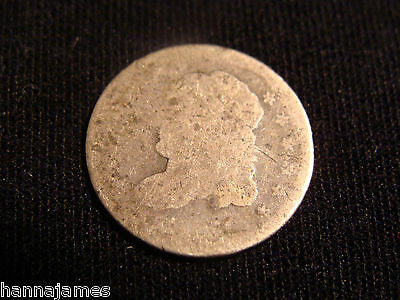 1830? Bust Half Dime Silver Coin Low Cost Low Shipping