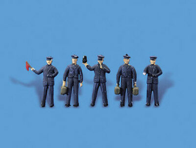 Station staff - OO/HO figures - Model Scene 5059 - free post