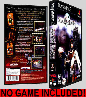 Shadow Hearts - PS2 Reproduction Art DVD Case No Game