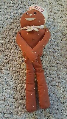 Vintage Nabisco Mr Salty Cloth Toy Doll