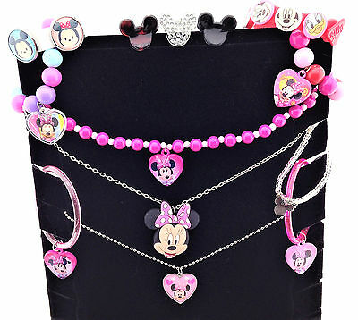 Disney Minnie Mickey Mouse Clubhouse Dress Up Girls Costume Jewelry 13 PC Lot
