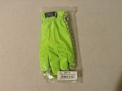 Traffic Gloves, Visible Green, Size XL, Part No. 307-11, Ringer Gloves