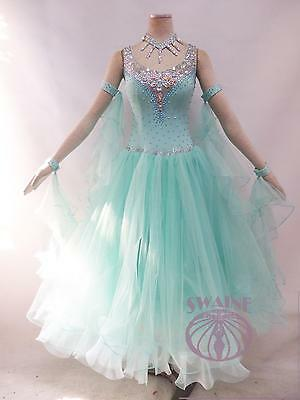 Ballroom .standard. Smooth Dance Competition Dress Custom-Size B13611