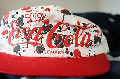 Coke Cola Trademark trucker snapback hat