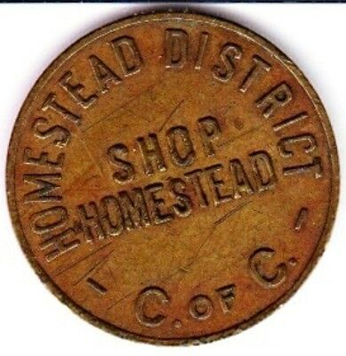 Homestead Steel Valley, PA Chamber of Commerce Parking Token #1