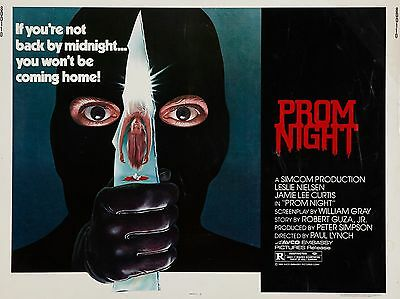 """Prom Night 16"""" x 12"""" Reproduction Movie Poster Photo"""