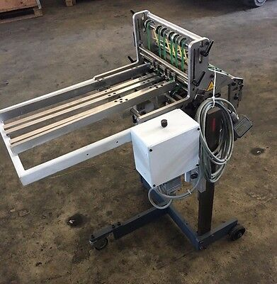Heidelberg - Stahl T36 STA.3-30/F vertical mini stacker delivery year 2002
