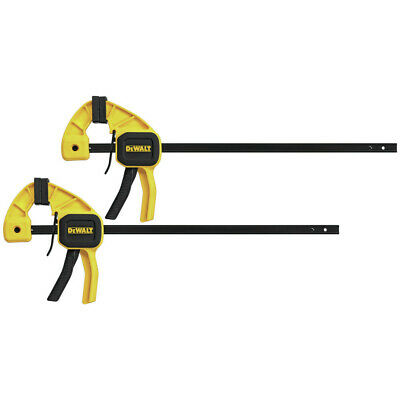 "DEWALT (2pk) 12"" Medium Bar Clamps DWHT83158 New"