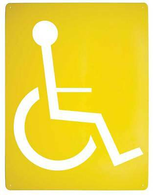 Stencil  Spray On, Wheelchair, Disabled, Invalid Parking  Sign 1000x1000mm