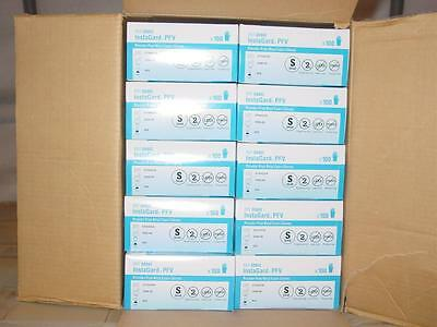 1000pcs CardinalHealth 8888I SMALL InstaGard PFV Vinyl PowderFree Exam Gloves