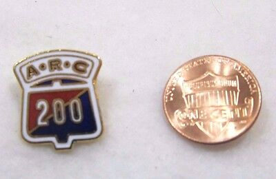 ARC 200 Bowling Pin Games Lapel Pin Pinback Hat