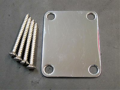 Electric Guitar Neck Plate Neck Plate Fix Tele Telecaster Guitar Neck Joint S1C3