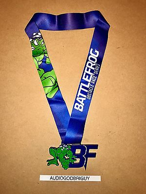 2016 Battlefrog Medal Obstacle Race Finisher Award - OCR Spartan Tough Mudder