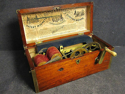 1854 Davis & Kidder's Magneto-Electric Quackery Medicine Shock Machine