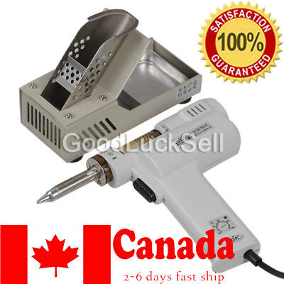 S-993A 110V 90W Electric Vacuum Desoldering Pump Solder Sucker Gun from CANADA