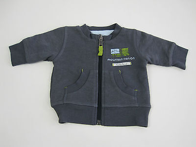 Timberland Baby Boys Zip Up Jacket size 1 month Colour Grey