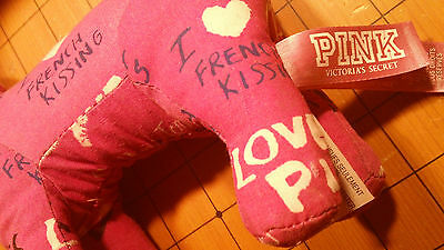 Victoria Secret Pair of Pinks - 2 Stuffed Dog Collectibles - DISPLAY
