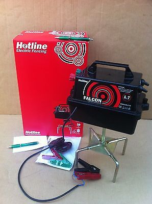 Hotline Falcon HLB500 12V Battery Electric Fence Energiser Horse & Smallholding.