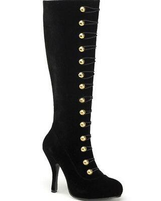 Black Ring Master Womens Boots