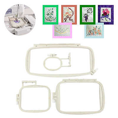 Embroidery Hoop Set (4 IN 1) Sewing Hoop Frame for Brother PE-750D 780D PE-770