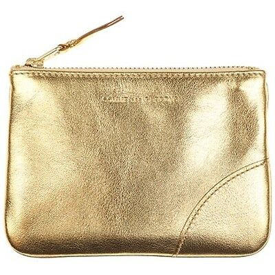 Comme Des Garcons Sa5100G Gold Wallet Leather Case Made In Spain