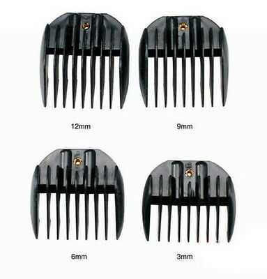 4 Size Universal Hair clipper Limit Combs Guide Comb Hairdresser Tool 3mm-12mm