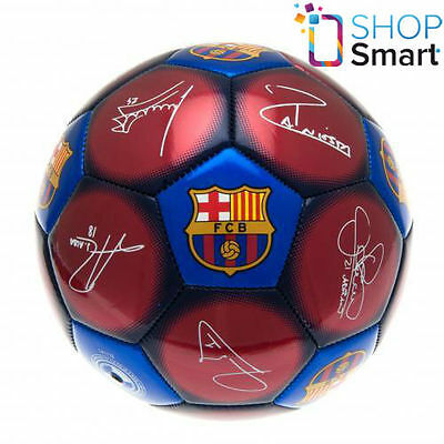 Fc Barcelona Ball Size 5 Signature 32 Official Football Soccer Club Team New