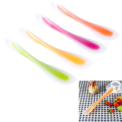 Cooking Utensil Double Head Silicone Spatulas Spoon Scoop Cake Pastry Scraper