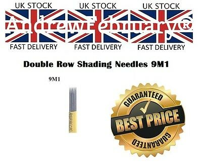 Microblading needles Double shading 9 Pins 9M1 fog needles UK SELLER