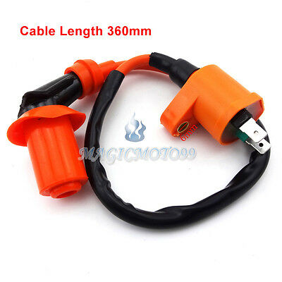 Racing Ignition Coil For 50 125cc 150cc Kymco SYM Vento Scooter Moped GY6 Engine