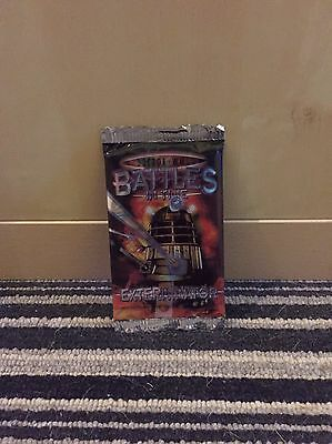 Doctor Who Battles In Time Exterminator Booster