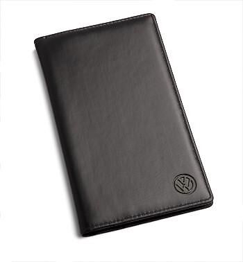 New Genuine Volkswagen Black 96 Business Card Holder