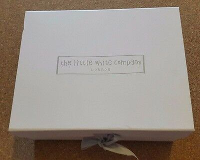 New The Little White Company Luxury Gift Set  Layette 3-6 m White