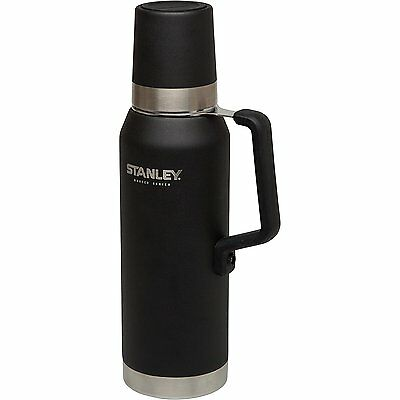 Stanley Master Series Insulated Outdoor Vacuum Bottle Stainless Steel Flask, 1.3