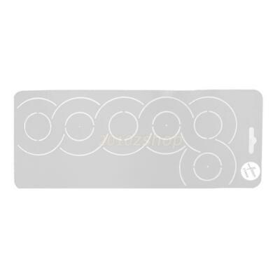 1 x Plastic Quilting Creation Stencil Template for DIY Sewing Embroidery Tool