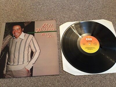 Bill Withers - 'Bout Love 1978 Vinyl LP CBS Ex+