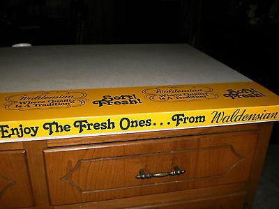 Waldensian Sunbeam Bakery Advertising Shelf Cover Rare Find