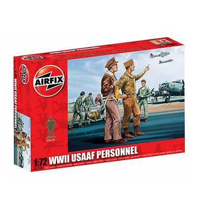 Airfix WWII USAAF Personnel 1/72 Scale Model Kit A01748