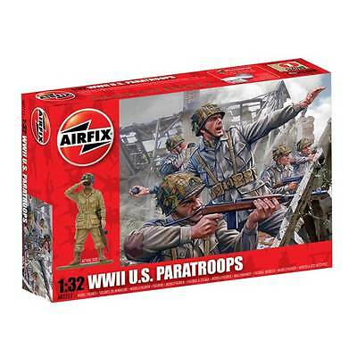 Airfix WWII US Paratroopers 1/32 Scale Model Kit A02711
