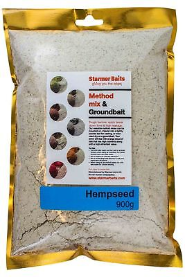 Hempseed method mix for carp and coarse fishing