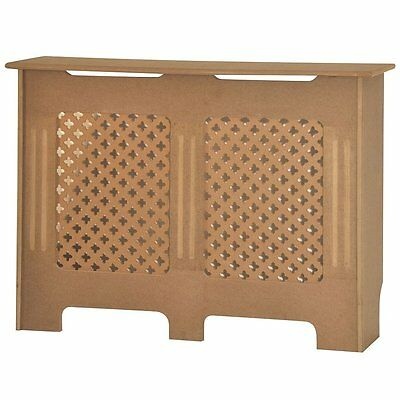 Home Discount Oxford Radiator Cover Unfinished Traditional Unpainted MDF...